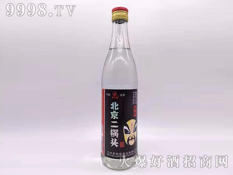 君有福北京二锅头酒够味42度500ml浓香型白酒