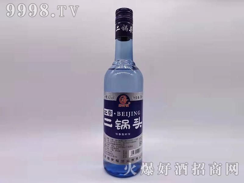 君有福北京二锅头酒42°500ml浓香型白酒银标