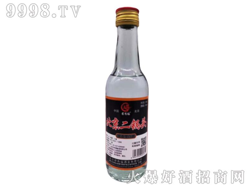 北京二锅头(黑标)42°250ml浓香型白酒
