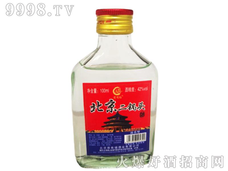 北京二锅头(红天坛)42°100ml浓香型白酒