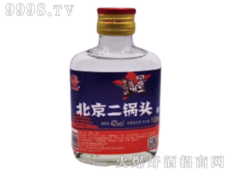 北京二锅头(劳动者)42°100ml浓香型白酒
