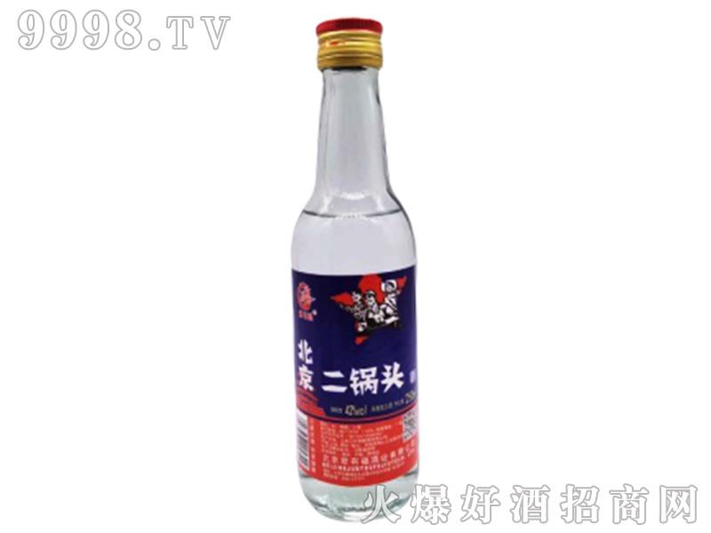 北京二锅头(劳动者)42°250ml浓香型白酒
